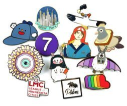 hard enamel lapel pins in enamel pin manufacturer